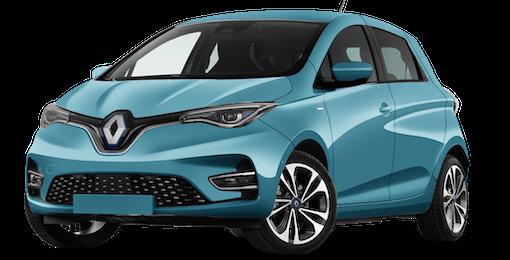 1. Renault ZOE mit 39 % mittl. Ersparnis zur UVP sichern
