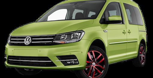2. Volkswagen Caddy mit 9 % durchschn. Ersparnis zur UVP sichern