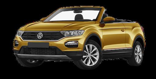 3. VW T-Roc Cabrio mit 18 % durchschn. Ersparnis zur UVP sichern